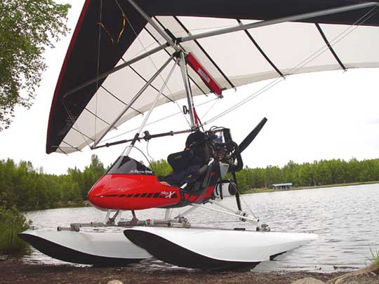 Antares Floats builders for Air Trikes