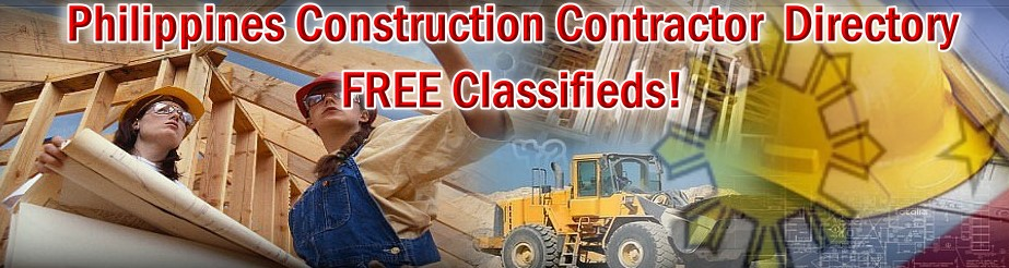 Philippines Construction Contractors Directory | Philippines Construction Contractors